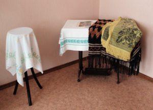 Выставка «Скатерть — царица стола»