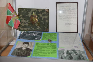 Выставка «Солдаты границы», к 100-летию погранвойск